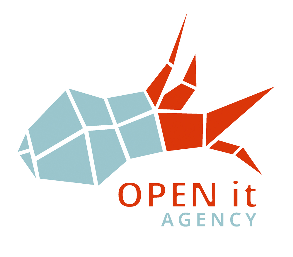 Open It Agency Logo Design