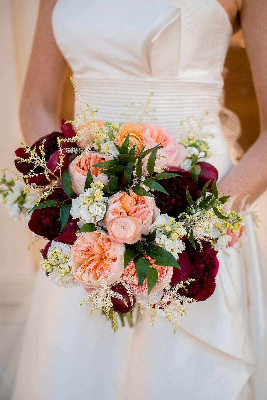 Peony-Wedding-Carnations-Snapdragon-Water-Works