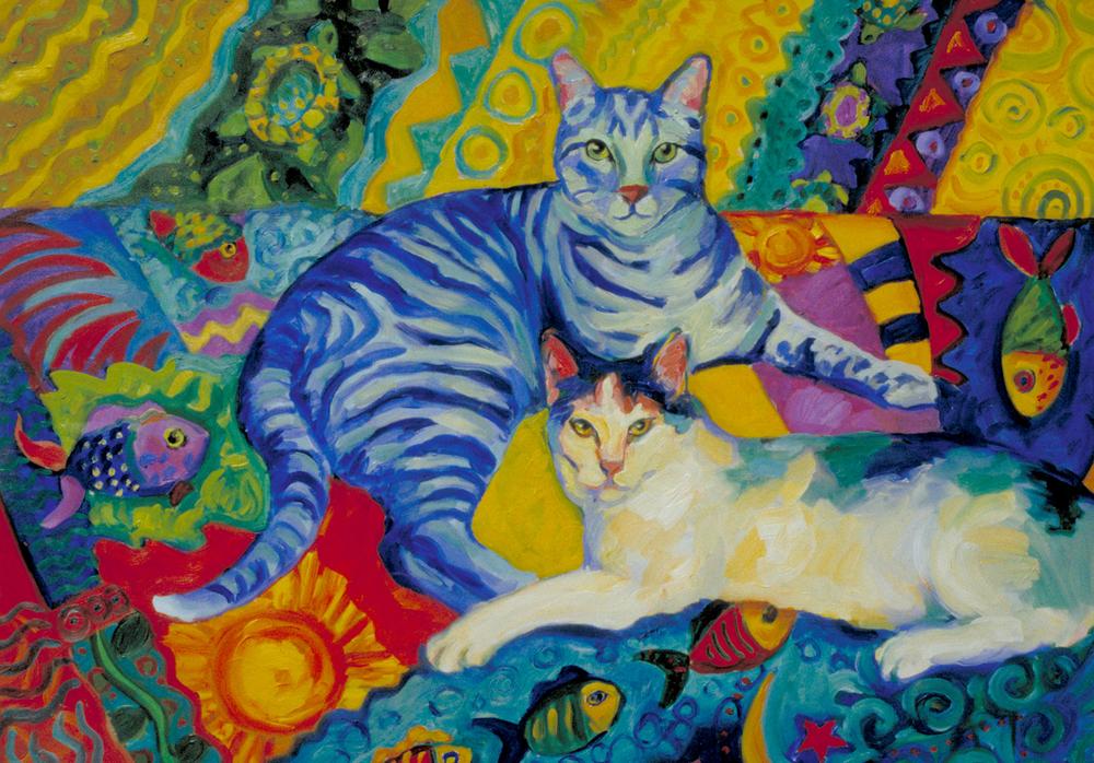 Aquarium Cats II