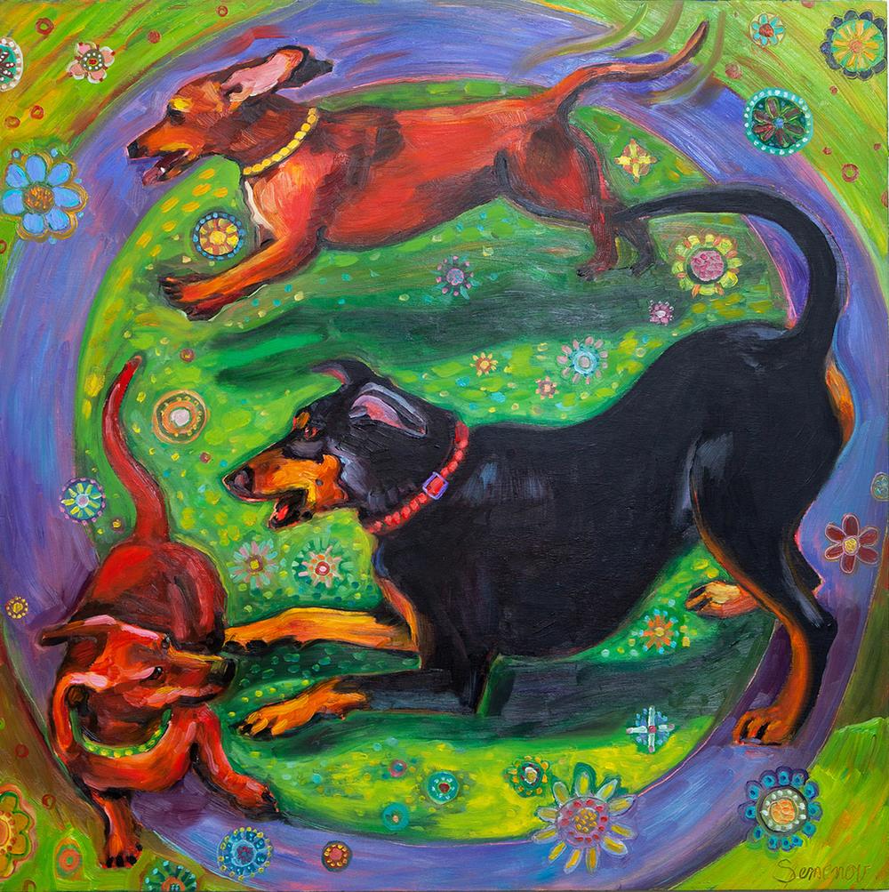 Circle Dogs IV