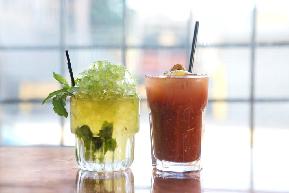 Green Tea Julep & Hearty Bloody Mary.jpg