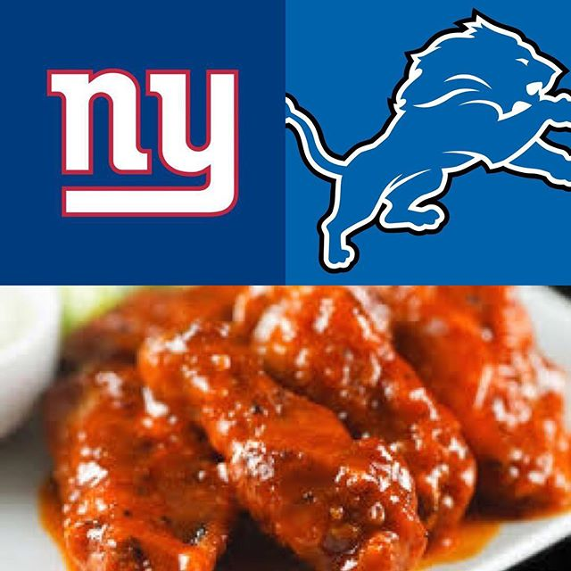 What goes better with wings than football? 50¢ wings all night and the game in the back room at 8pm 👌