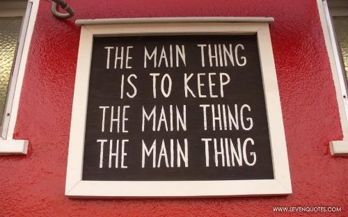 Amen. ~Stephen R. Covey Lesson 17