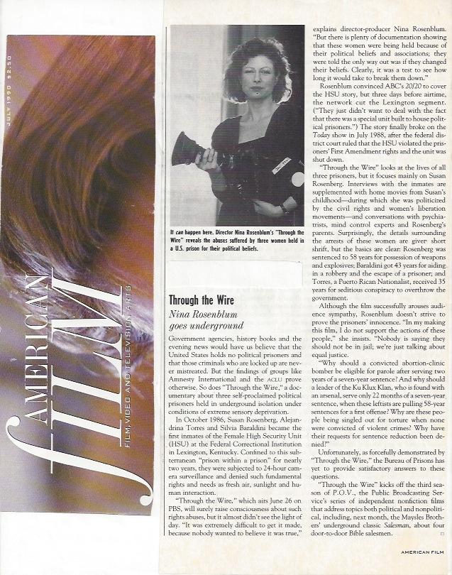 American FIlm Magazine
