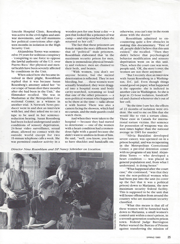 International Documentary Magazine, p. 2