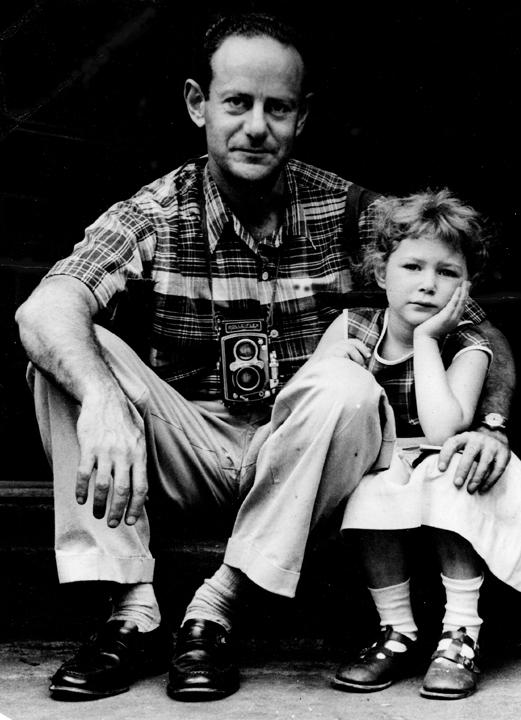 Walter Rosenblum with filmmaker Nina Rosenblum