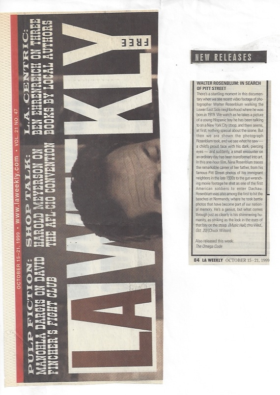 LA Weekly,  1999