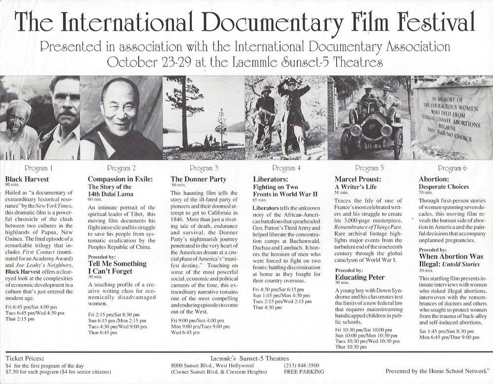 The International Documentary Film Festival