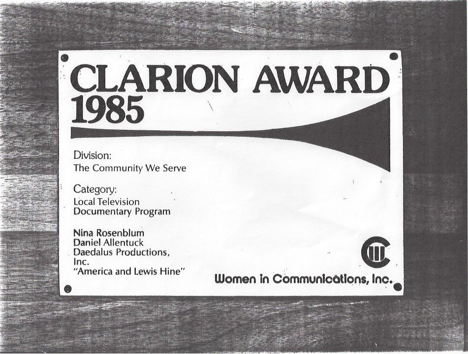 Clarion Award
