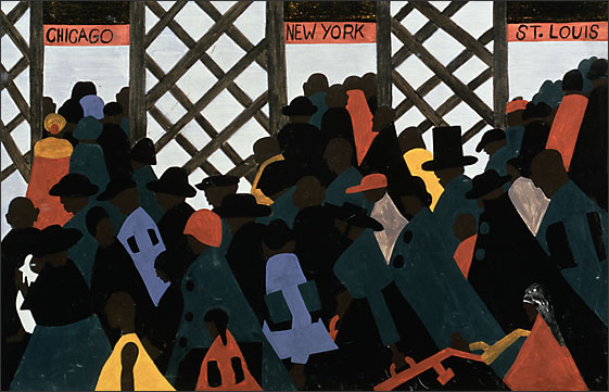 The Migration Series, Panel no. 1 (1940-1941)