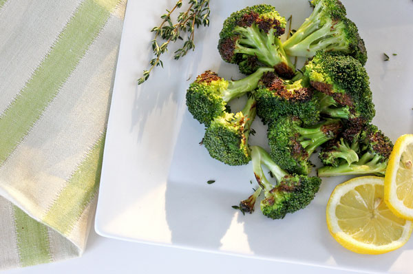 grilled broccoli with lemon and herbs whats cooking good looking rh whatscookinggoodlooking com