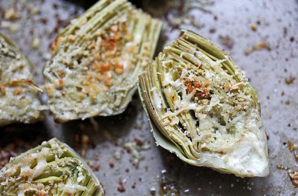 roasted baby artichokes with a garlic lemon aioli — whats ...