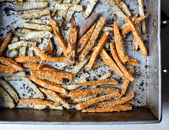 loaded sweet potato fries | what's cooking good looking