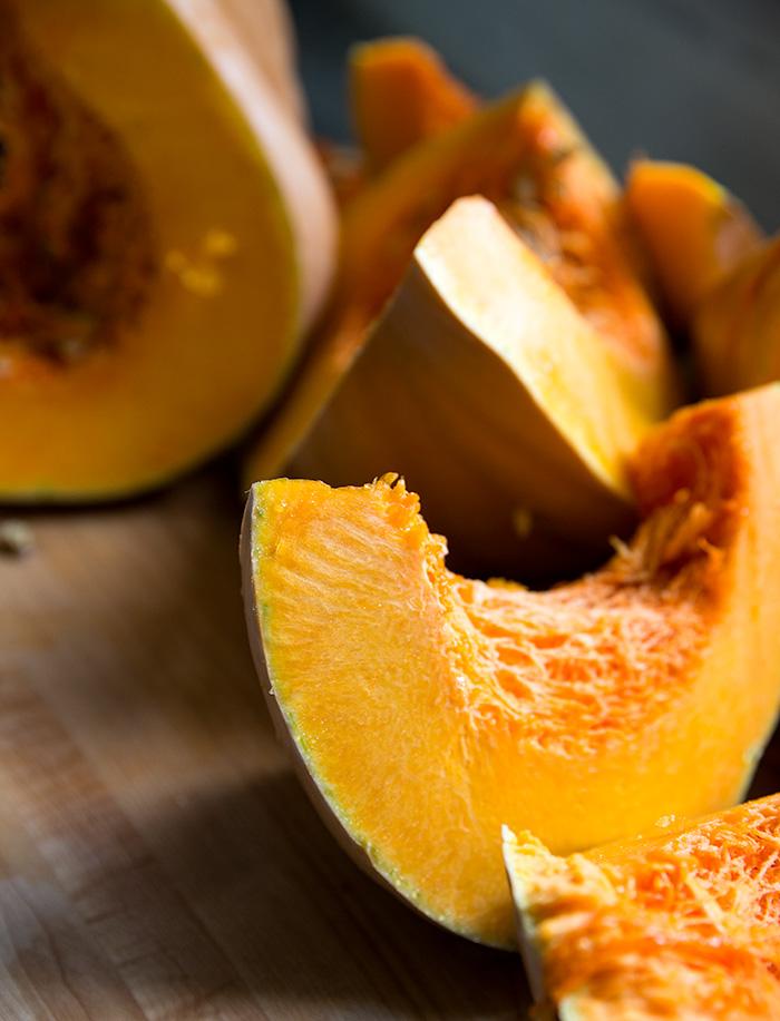 savory pumpkin pie + quinoa crust
