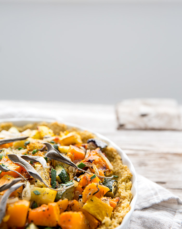 savory pumpkin pie + quinoa crust   what's cooking good looking