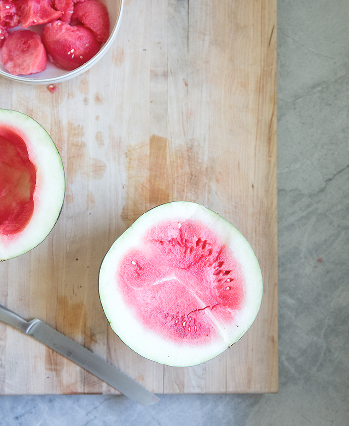 watermelon basil colada | what's cooking good looking