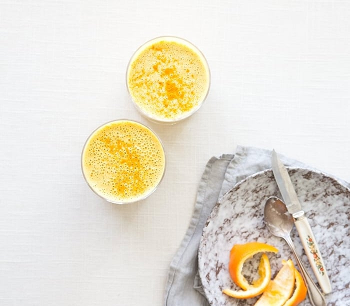 CARROT + ORANGE + TURMERIC (IMMUNE BOOSTING!) SMOOTHIE