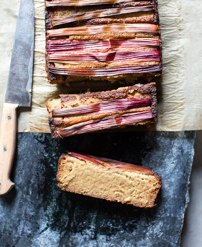 rhubarb banana bread | what's cooking good looking