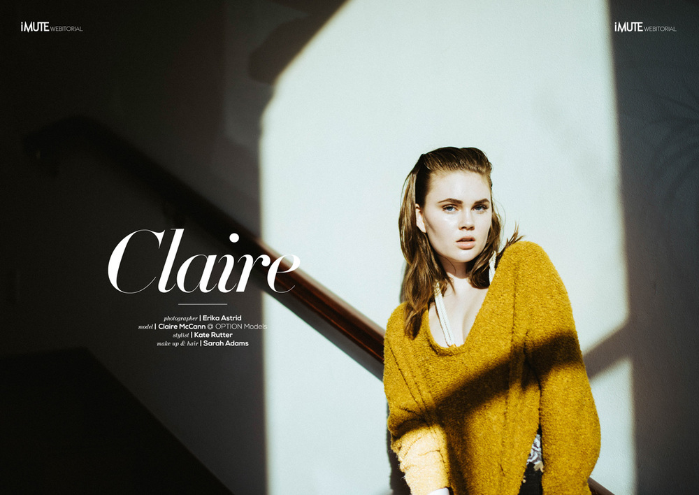 Claire McCann and Erika Astrid