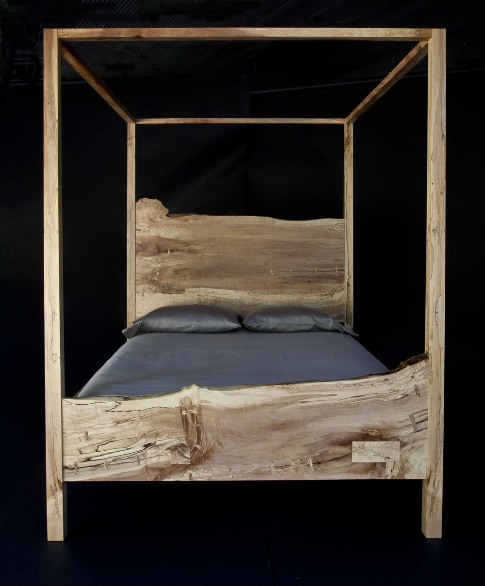 Spalted Maple Queen Canopy.jpg