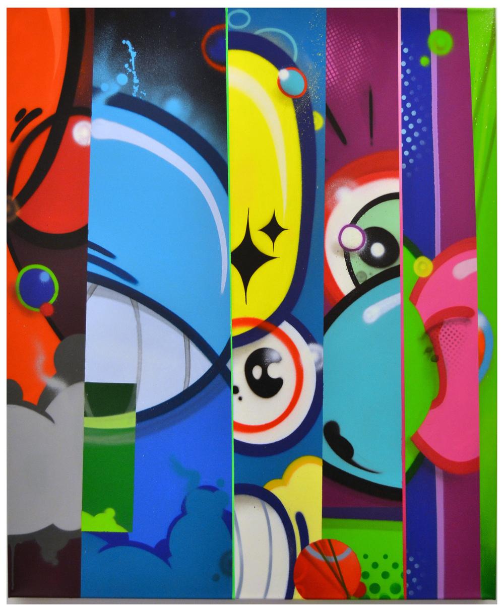 "title: ""monopoly on sorrow"" 120cm x 100cm x 6,5cm"