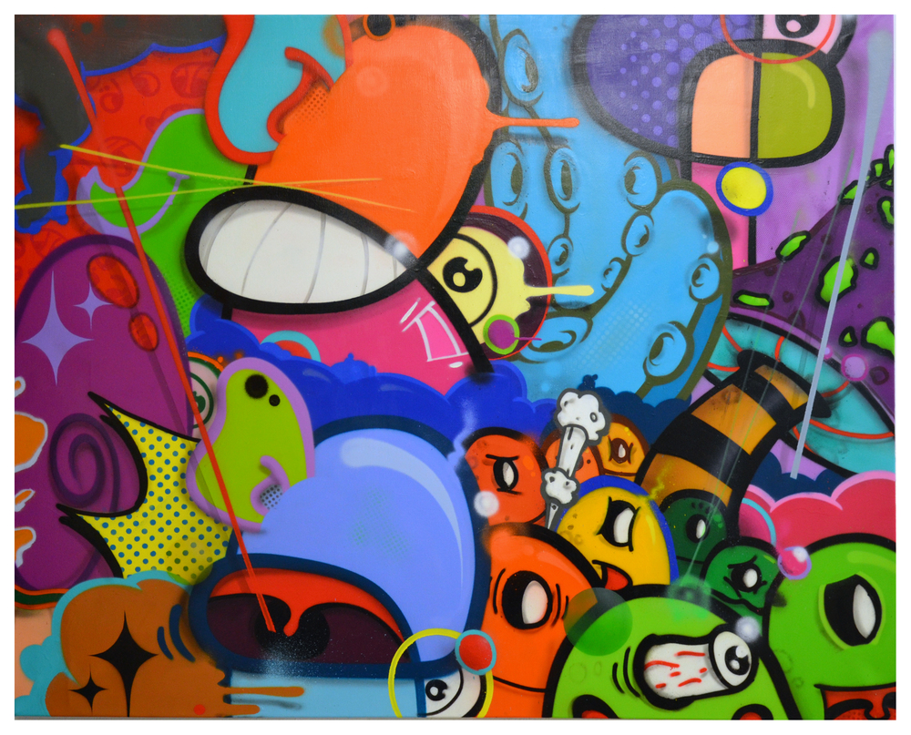 "title"" shady groove"" 120cm x 140cm"