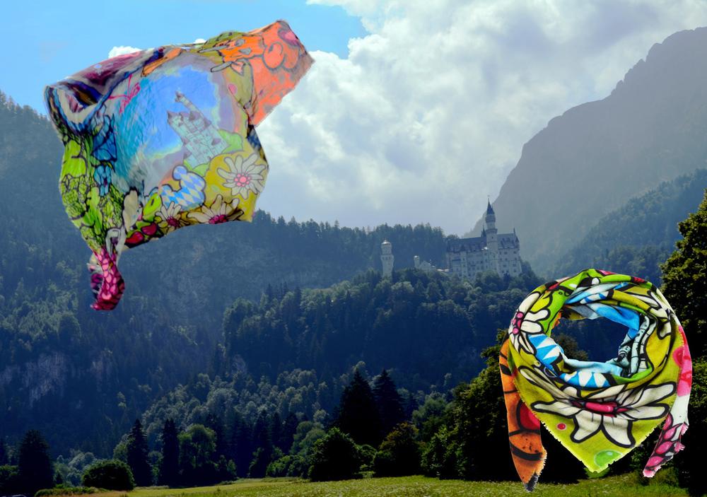 bavaria scarf by trus & mala&mad