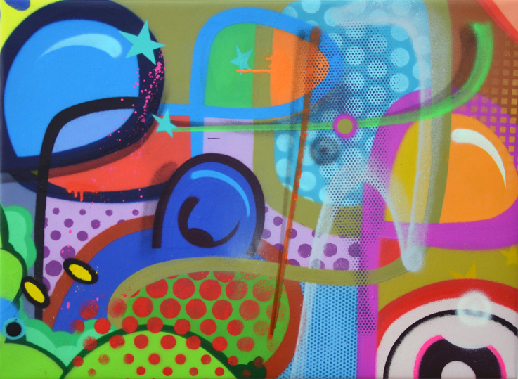 "title: ""for the peops"" 60cm x 80cm"