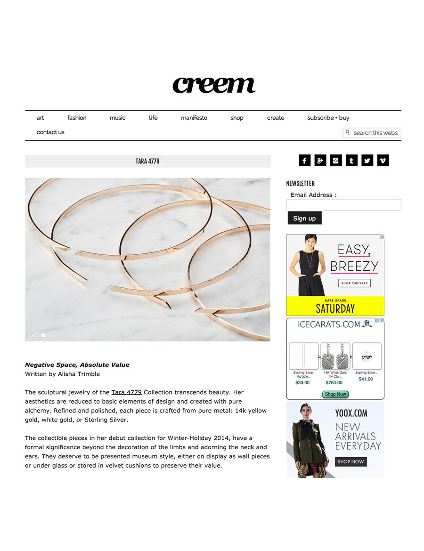 CREEM MAGAZINE - Online