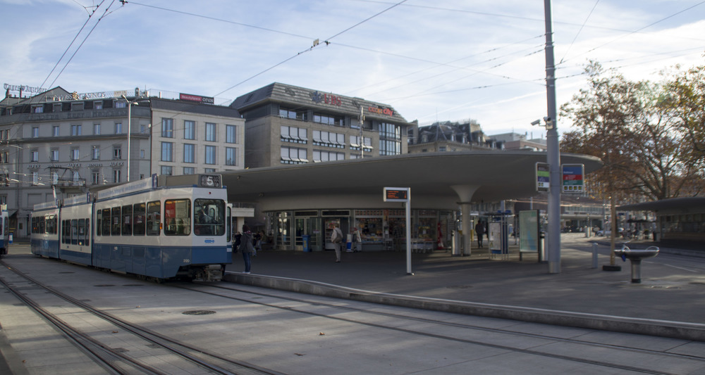 Efficient transit - Zurich, Switzerland
