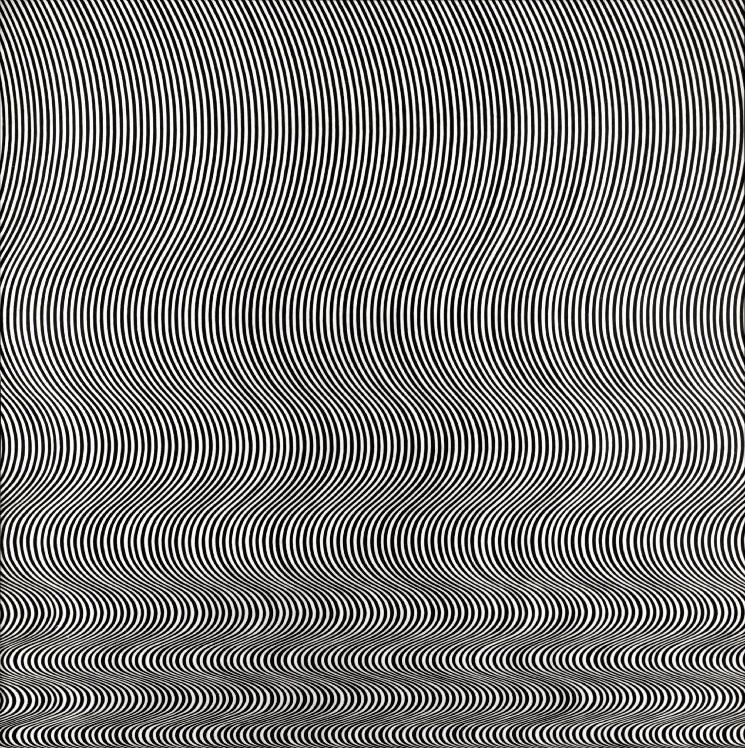 Bridget Riley, Fall, 1963 Photo: Tate Collection