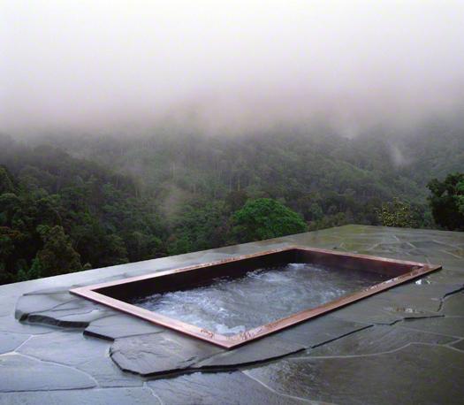 Misty mountain, copper pool Photo: Diamond Spas
