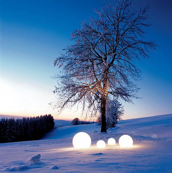 Outdoor Moonlight Globe Light Photo: Tréndir