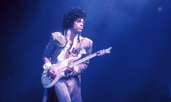 Prince performs at the Fabulous Forum on February 19, 1985 in Inglewood, CA      Photo: Michael Ochs Archives, Getty Images