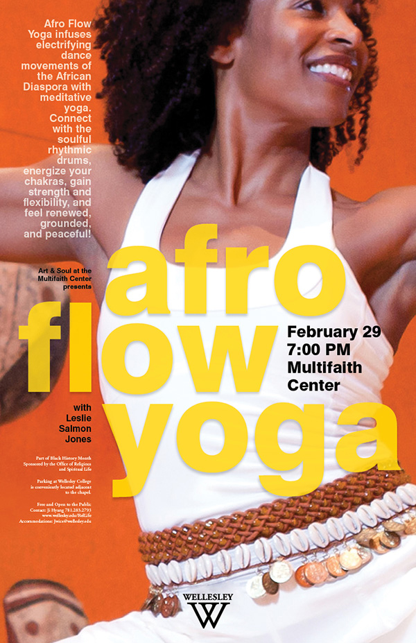 - Afro Flow Yoga with Leslie Salmon Jones