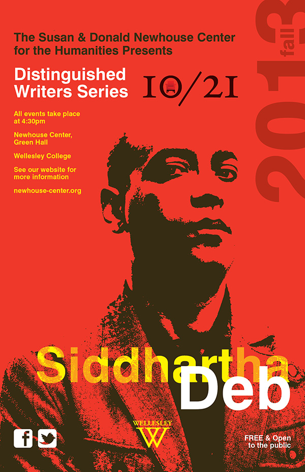- Distinguished Writer SeriesSiddhartha Deb