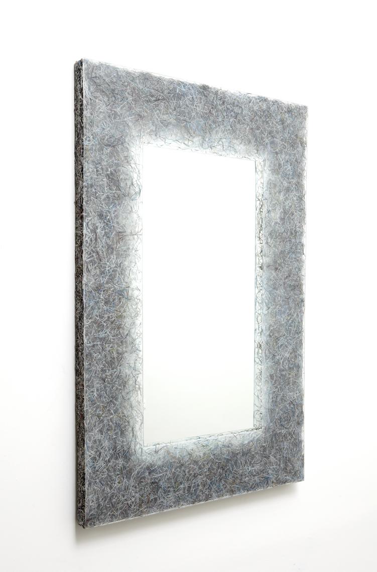 'Shredded' mirror 1 (Art+Auction), 2014