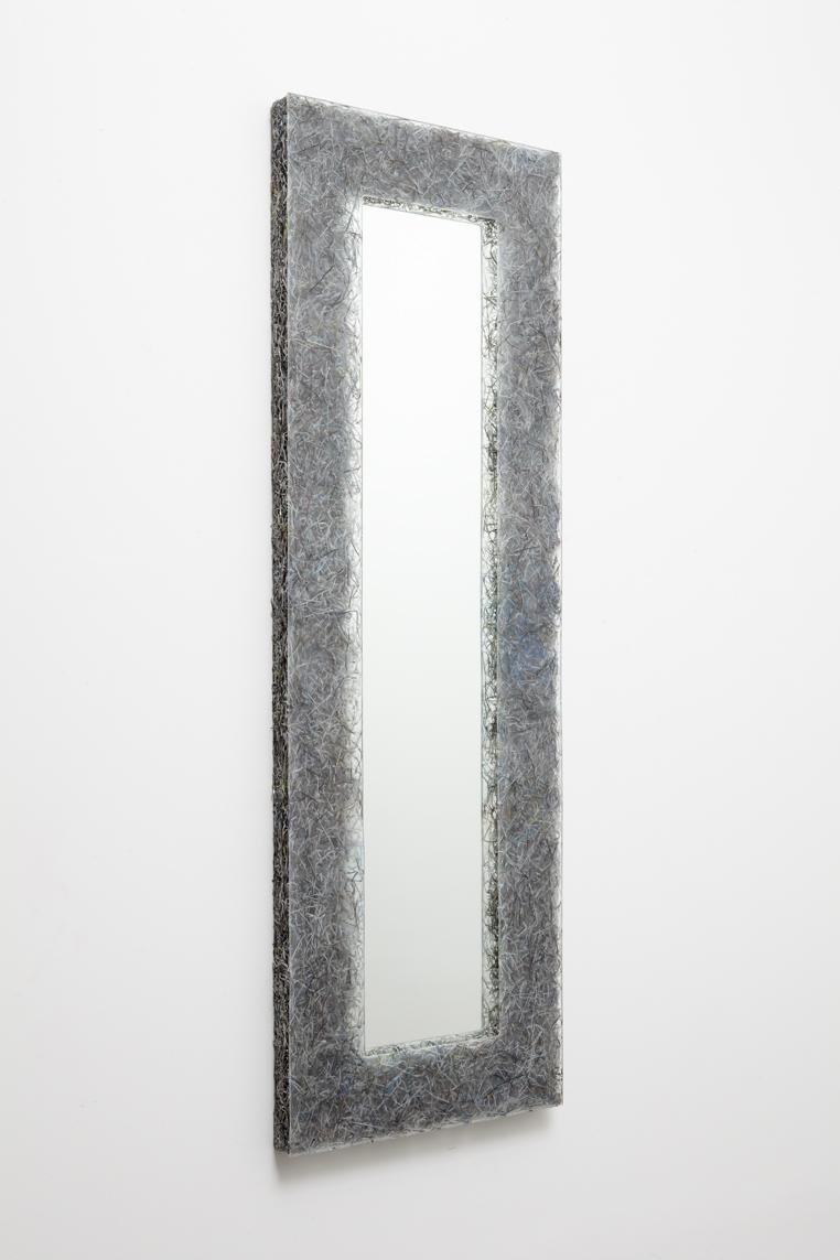 'Shredded' mirror 2 (Art+Auction), 2014