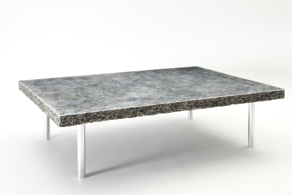 'Shredded' low table (Art+Auction), 2014
