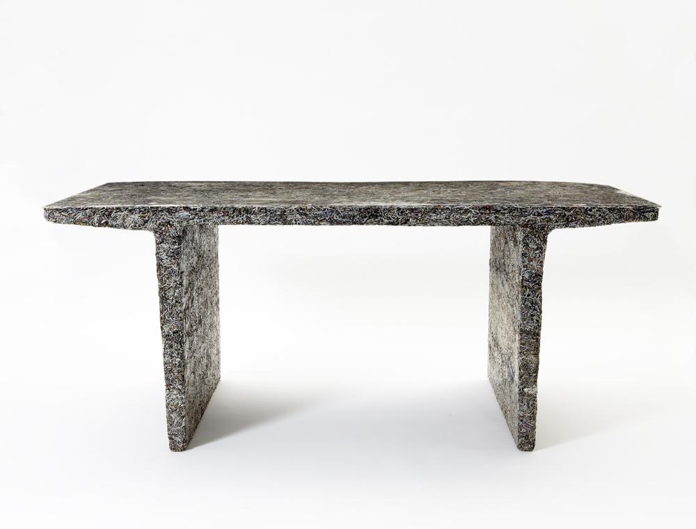 'Shredded' desk (Elle Decor), 2012