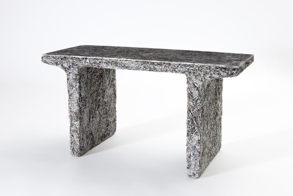 'Shredded' side table (Elle Decor), 2012