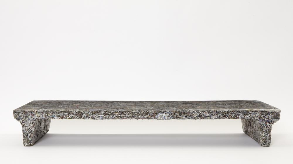 'Shredded' low table (Elle Decor), 2012