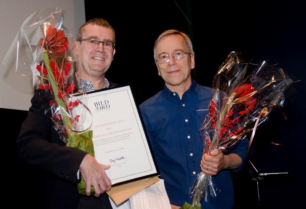 Pontus Soldén och Pekka Särkiniemi