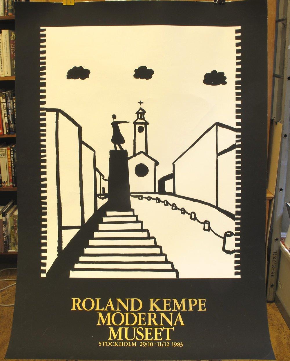 Moderna Museet Roland Kempe, 300:-