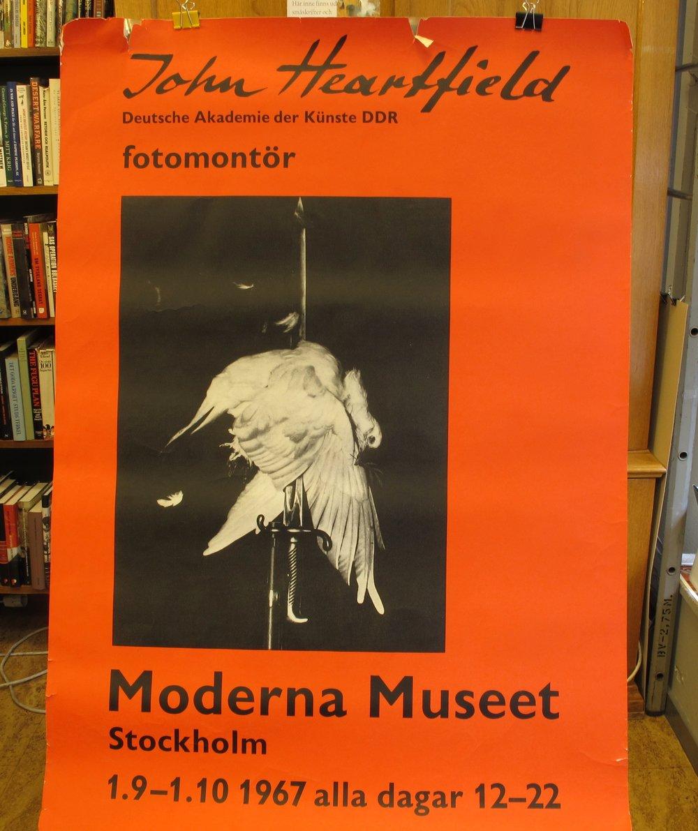 Moderna Museet John Heartfield, 600:-