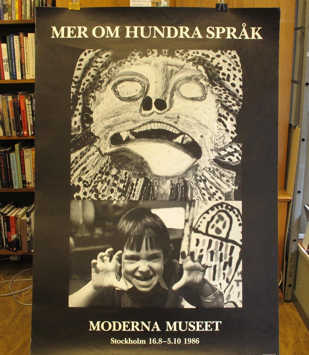 Moderna Museet Mer om hundra språk, 300:-