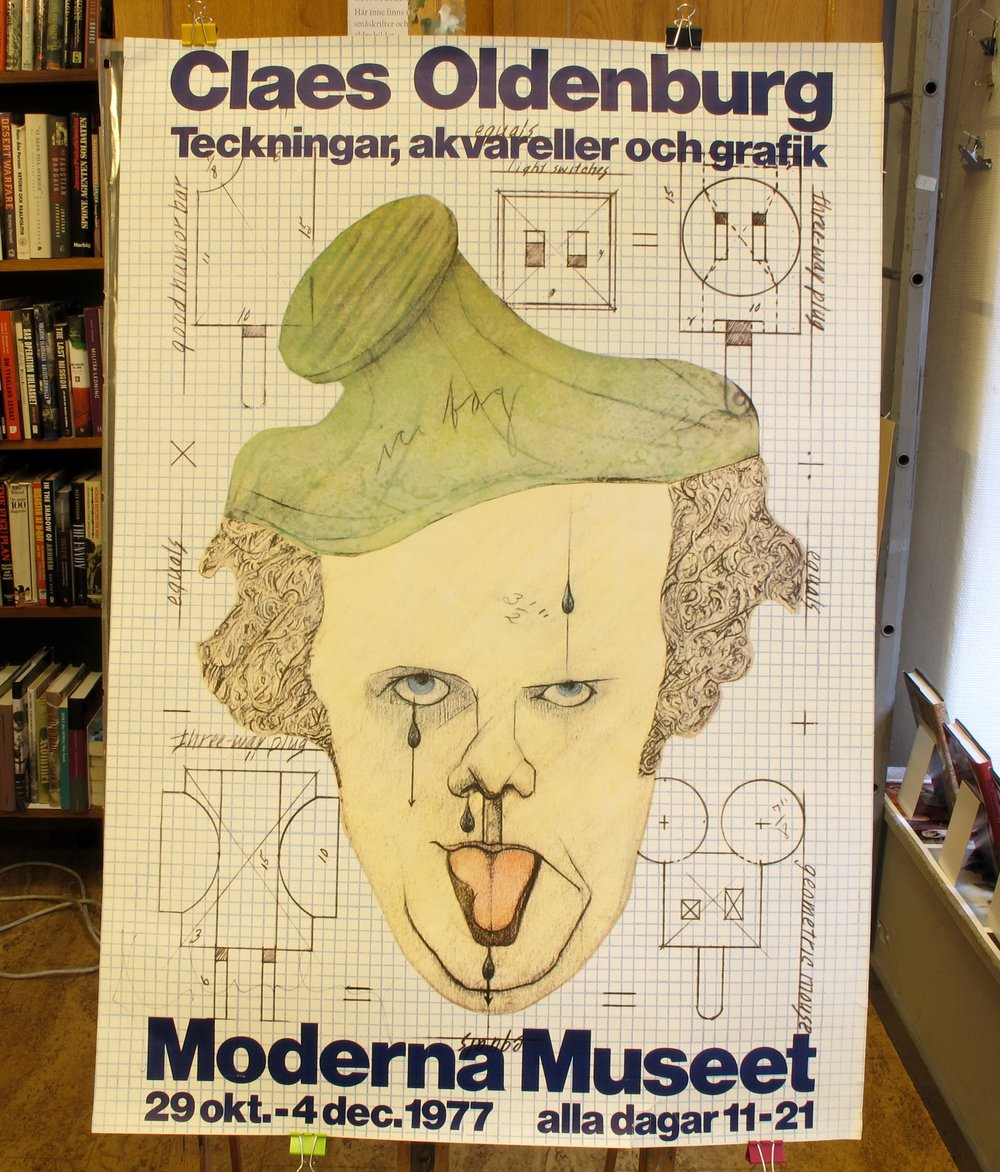 Moderna Museet Claes Oldenburg, 700:-