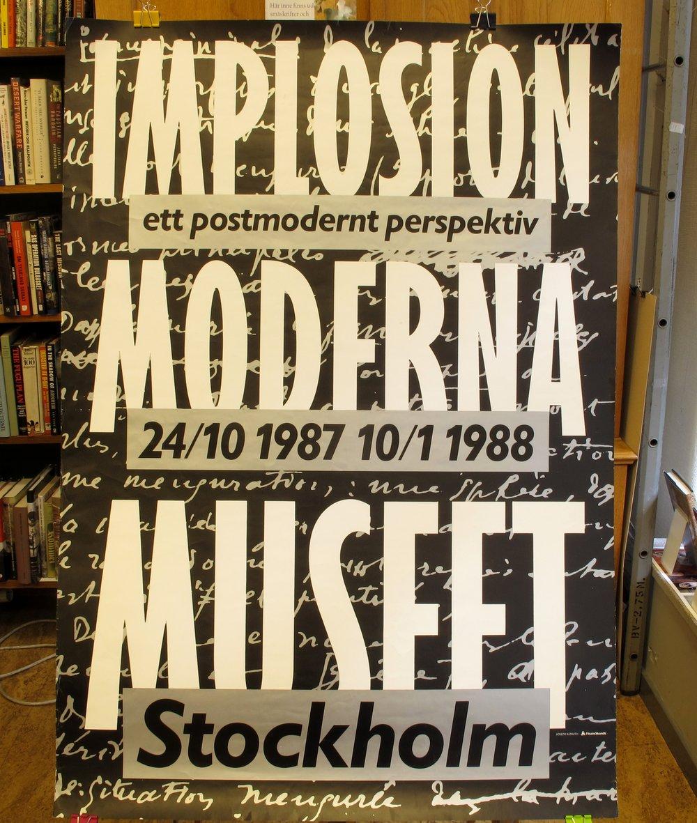 Moderna Museet Implosion, 300:-