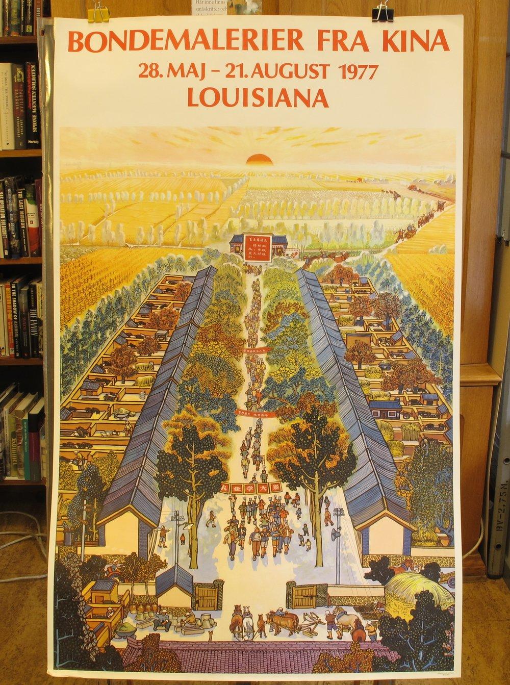 Louisiana Bondemalerier fra Kina, 500:-