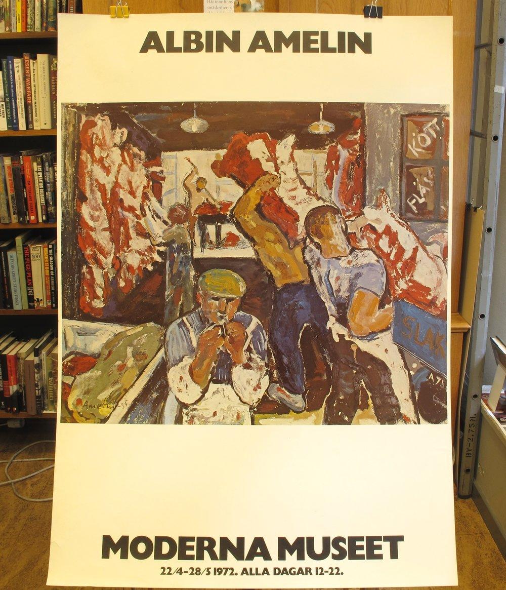 Moderna Museet Albin Amelin, 400:-